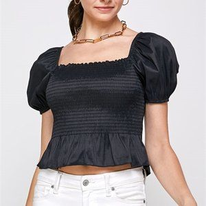 CHIC DOLLZ Puffed Sleeved Blouse